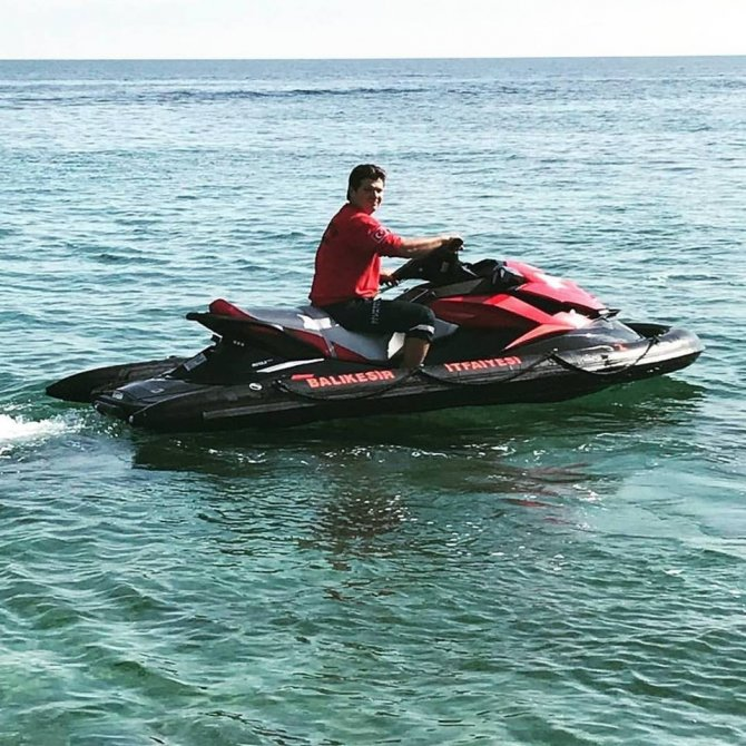 Balıkesir itfaiyesinde jet skiler göreve başladı