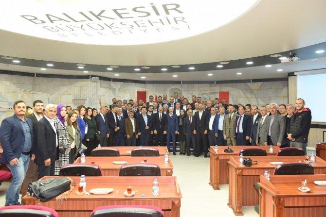 AK Parti'den Başkan Kafaoğlu'na ziyaret