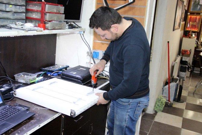 Günlük 2 lira elektrik tüketen ısıtıcı geliştiren kardeşler siparişlere yetişemiyor