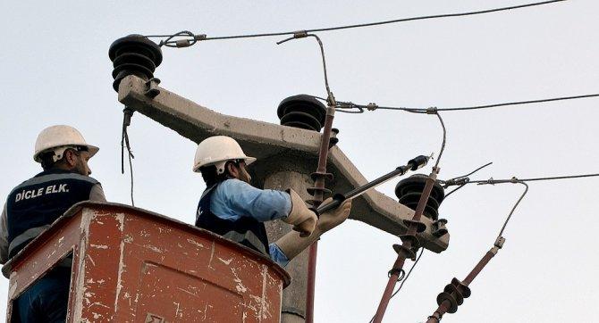 Dicle Elektrik, yatırımlarıyla ana hat arızalarını en aza indirdi