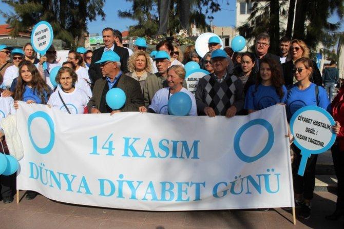 Ayvalık'ta diyabete 'farkındalık' etkinliği
