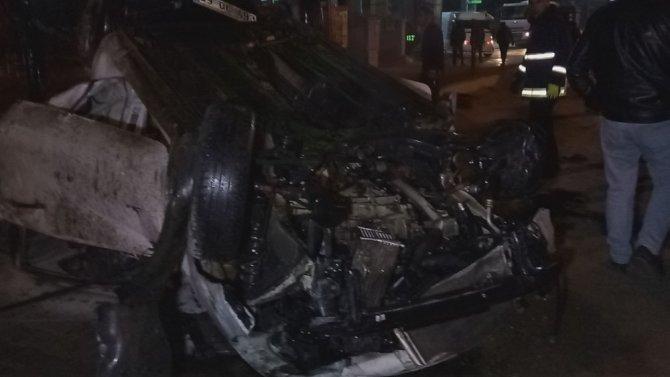 Van'da trafik kazası; 3 yaralı