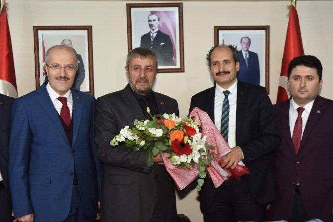 Başkan Kafaoğlu'ndan MHP'ye teşekkür ziyareti