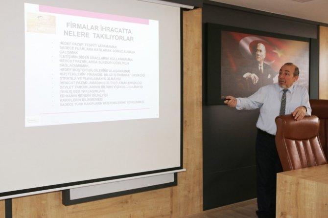 İhracatçılara yeni nesil dış ticaret istihbarat eğitimi