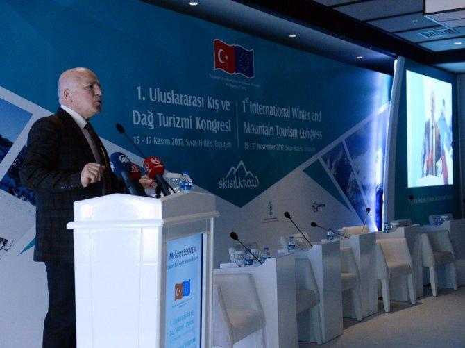 1.Uluslararası Kış ve Dağ Turizm Kongresi başladı