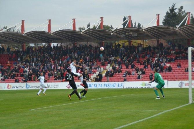 TFF 1. Lig: Balıkesirspor Baltok: 2 - Eskişehirspor: 3