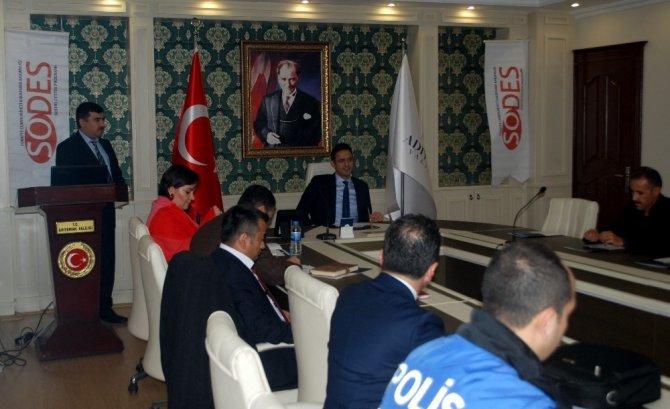 SODES bilgilendirme toplantısı düzenlendi