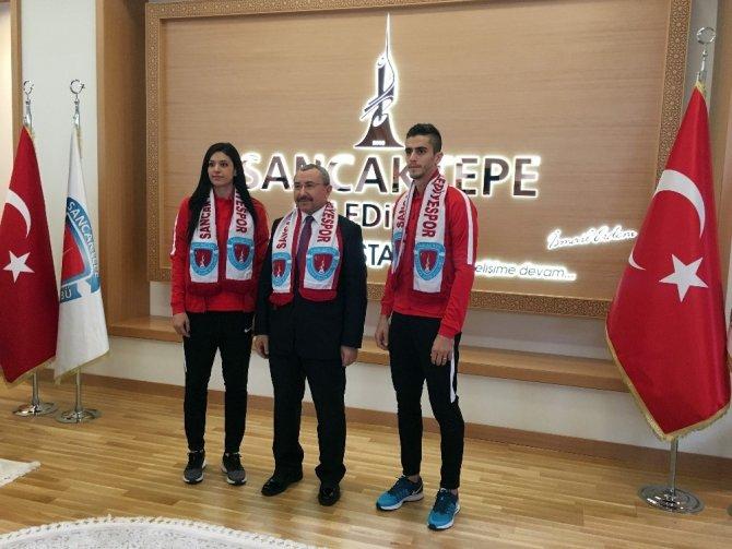 Dünya Tekvando Şampiyonu Sancaktepe Belediyespor'da