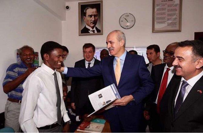 Kültür ve Turizm Bakanı Kurtulmuş, Sudan'da