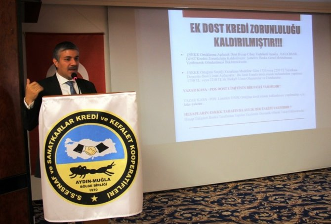 Necip Saraç'dan Aydın ve Muğla esnafına ücretsiz yeni nesil yazarkasa müjdesi