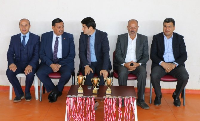 Harran'da futsal şampiyonları belli oldu