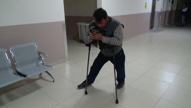 Bu gazetede çalışmanın şartı engelli olmak