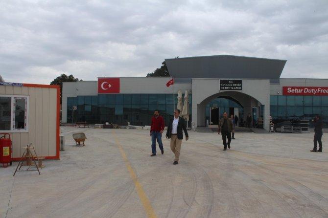 Ayvalık Deniz Hudut Kapısı yenileniyor