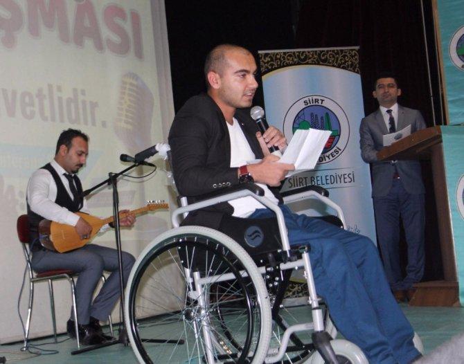 Siirt'te engelliler sahneye çıktı