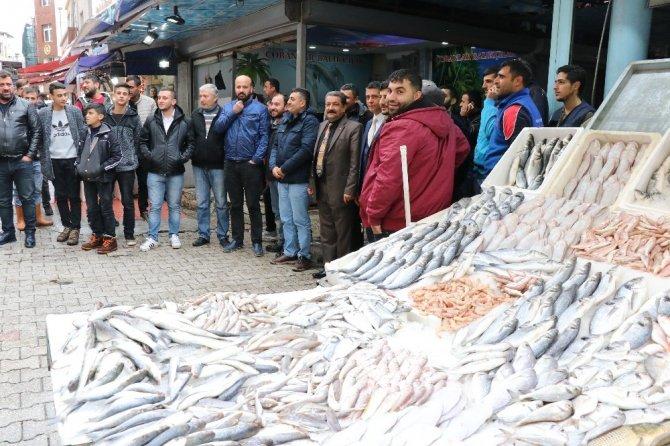 Balıkçı esnafının kent meydanı kaygısı