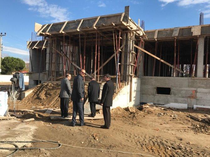 Bahçelievler Ortaokulu inşaatı hızla devam ediyor