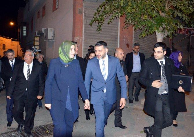 Bakan Kaya Kilis'te şehit ailesini ziyaret etti