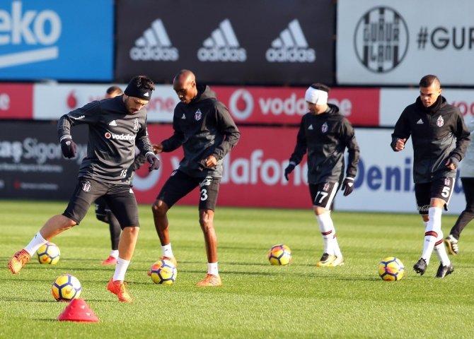 Beşiktaş, Kayserispor maçı hazırlıklarına başladı