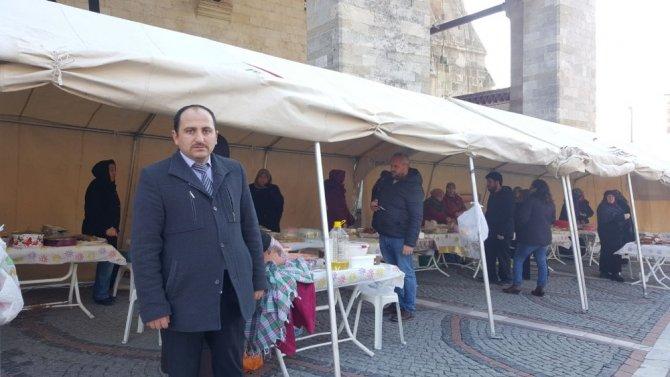 Edirne'de Fatih Sultan Mehmet Kuran Kursu kermesi