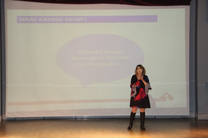 Öğrencilere yeni dönem sınav sistemi anlatıldı