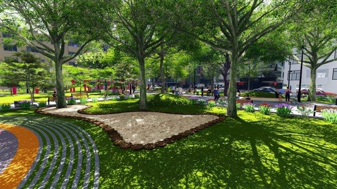 Molla Şaban Parkı Şehzadelerle güzelleşiyor