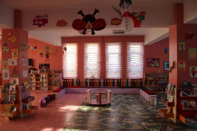 Diyarbakır'da çocuklar için 'Oyuncak Kütüphanesi' kuruldu