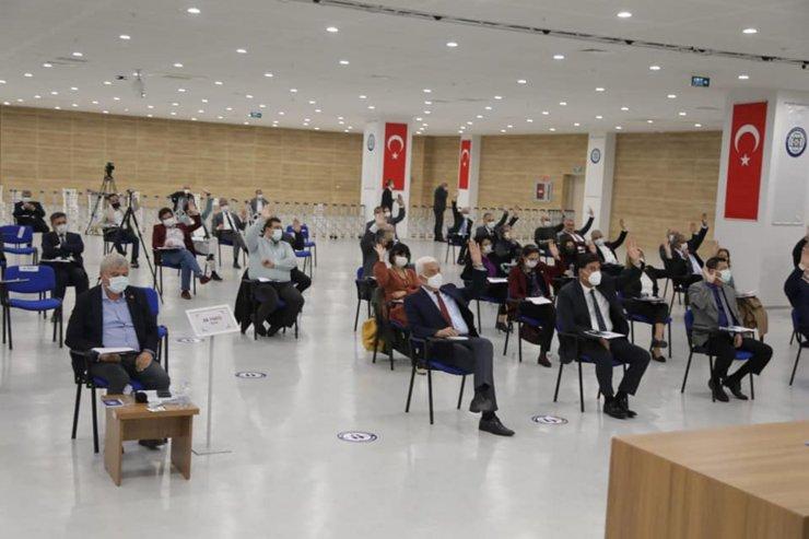 Büyükşehir Nisan ayı meclisinde 42 karar alındı