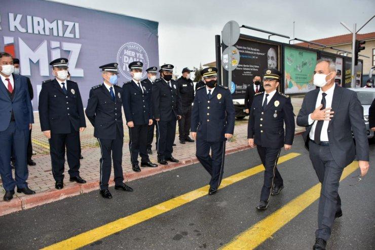Başkan Bozdağan'dan polislere sürpriz ziyaret