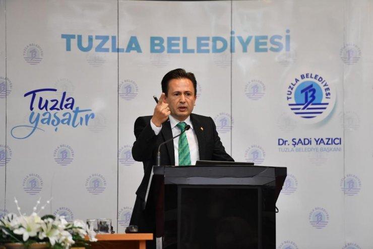 """Yazıcı: """"İBB Tuzla'daki 9 projede 2,5 puandan sınıfta kaldı"""""""