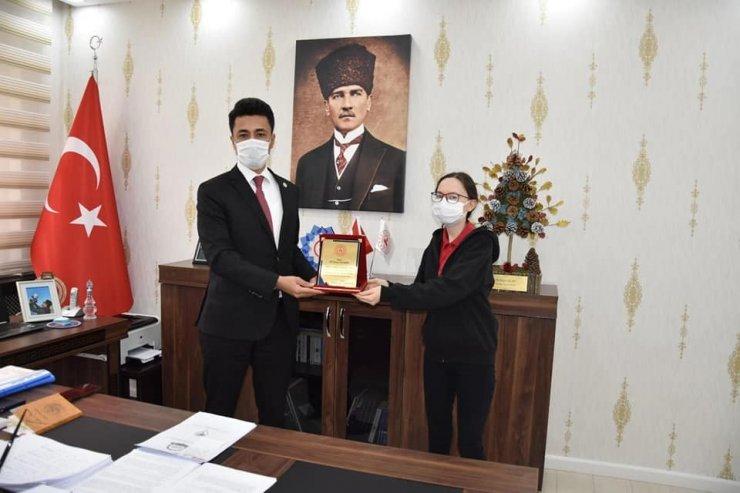 Dadaylı öğrenci Türkiye 6'ıncısı oldu
