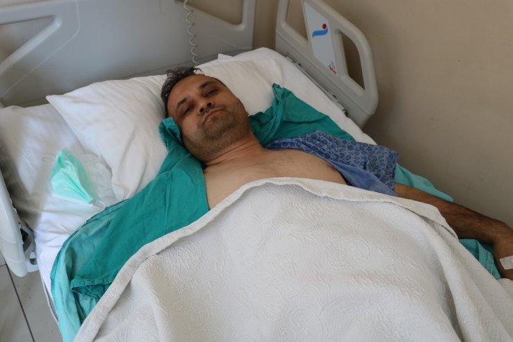 Böbreğinden 11 santimlik tümör çıkarıldı