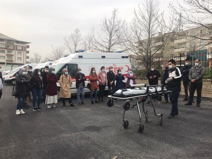 112 acil sağlık çalışanlarına tıbbi cihaz eğitimi