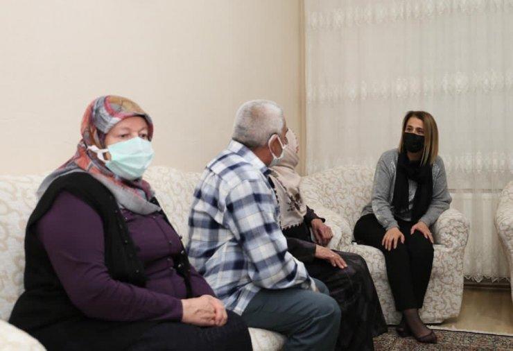 Vali Becel, şehit ve gazi ailelerini ziyaret etti