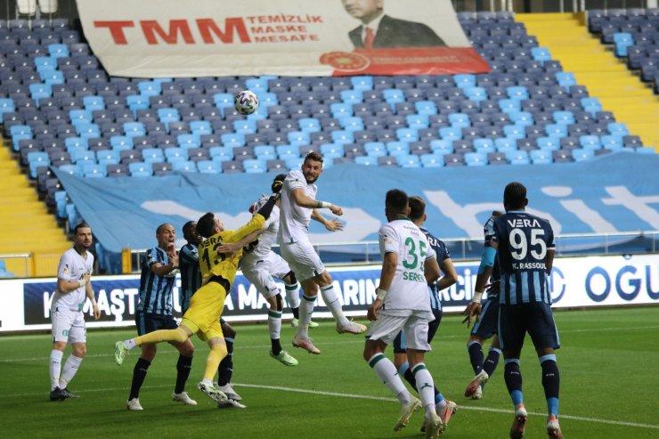 TFF 1. Lig: Adana Demirspor: 3 - GZT Giresunspor: 0 (İlk yarı)