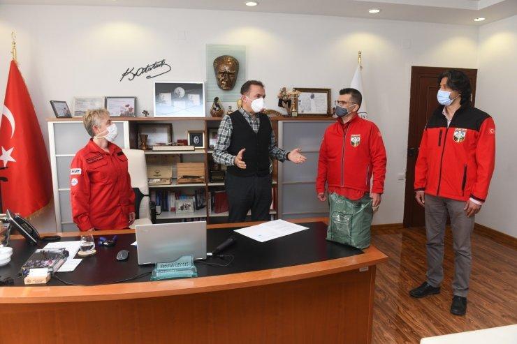 Yenişehir Belediyesi ile AKUT Mersin arasında işbirliği protokolü imzalandı