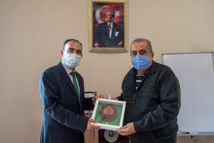 Rektör Beydemir'den İl Özel İdaresi Genel Sekreteri Bayrakçı'ya ziyaret