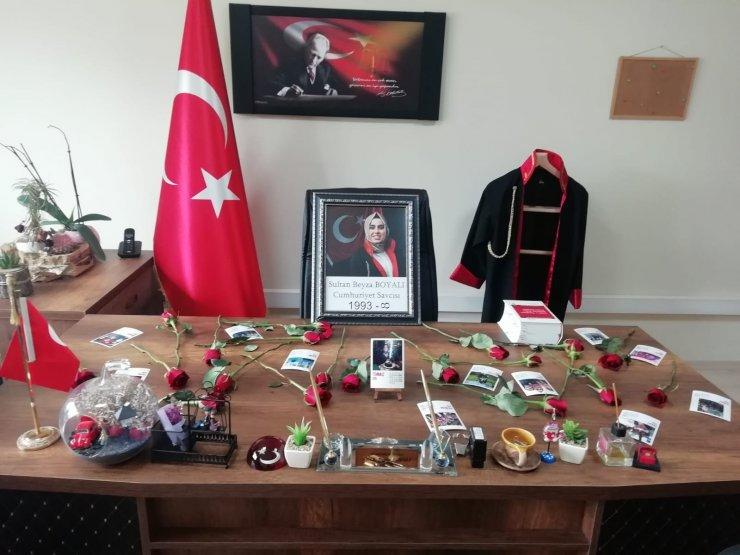 Doğanşehir'de koronadan ölen savcı adliye çalışanlarını yasa boğdu