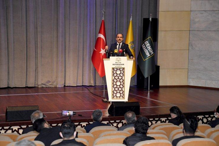 """Başkan Altay: """"Konyamızı yıpratmaya çalışanlara cevabımızı birlik ve beraberlikle hizmet ederek vereceğiz"""""""