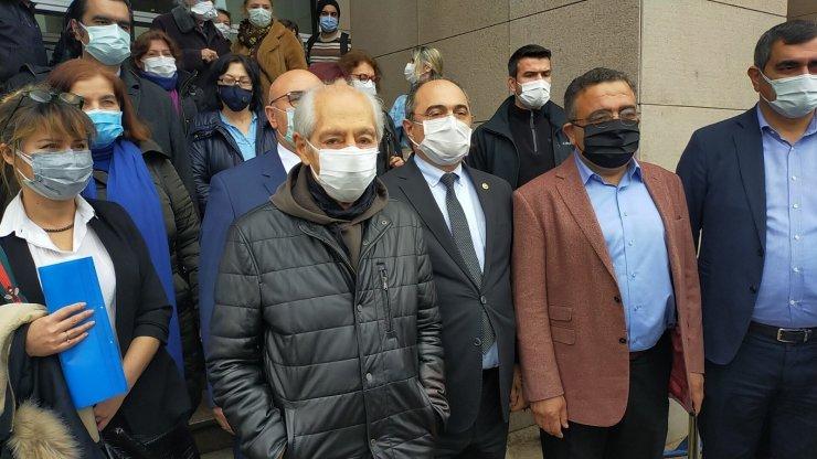 Genco Erkal 'Cumhurbaşkanına hakaret' soruşturması kapsamında ifade verdi
