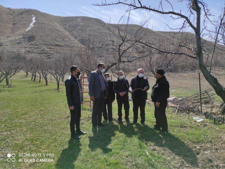 Tuşba Belediyesinden çiftçilere uygulamalı ağaç budama eğitimi