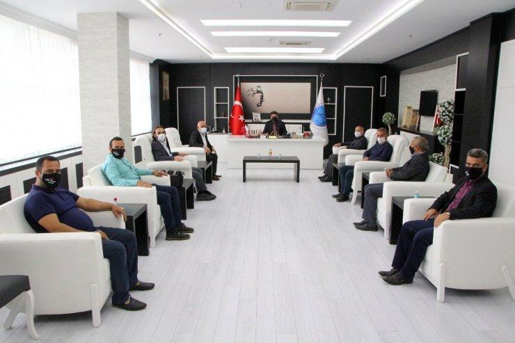 Gazetecilerden Rektör Karacoşkun'a iade ziyaret