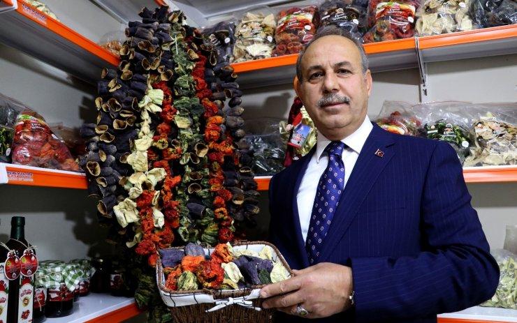 Türkiye'nin kurutmalık deposu Oğuzeli