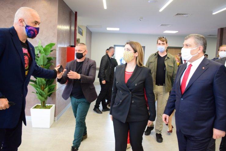 """Arnavutluk Başbakanı Rama: """"Türkiye kamu sağlık alanında elde edilen başarılı model Arnavutluk'ta da önümüzdeki yıllarda model olacak"""""""