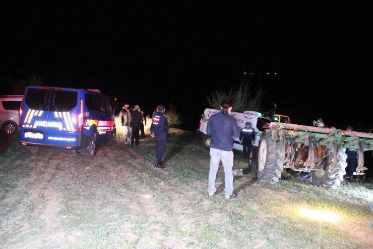Karaman'da traktörün altında kalan çiftçi hayatını kaybetti