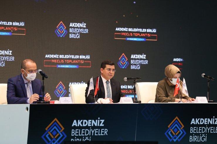 Başkan Örki, Akdeniz Belediyeler Birliğinde üçüncü kez encümene seçildi