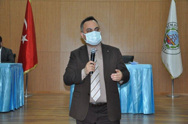 Simav'da Covid-19 tedbirleri konulu toplantı