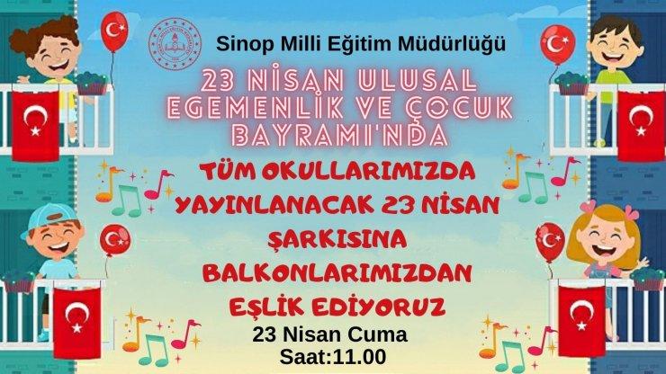 Sinop'ta 23 Nisan programı belli oldu