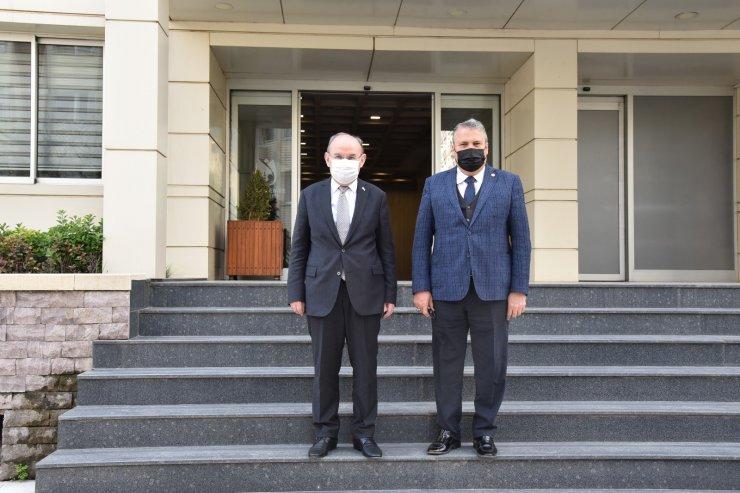 Vali Karadeniz Başkan Çerçi'den projelerini dinledi