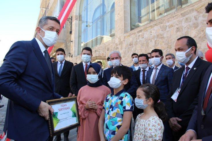 Bakan Selçuk Anadolu Masal Evinin açılışını yaptı
