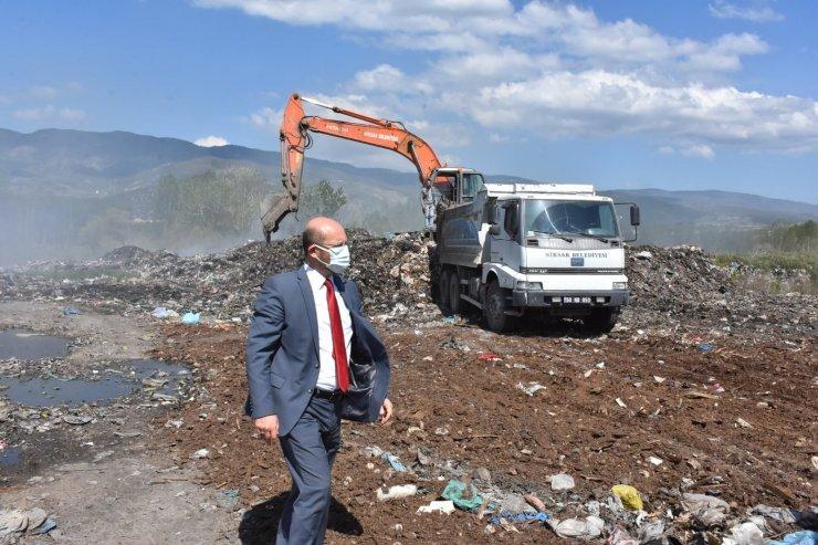 """Belediye Başkanı Özcan; """"Niksar'da vahşi depolama dönemi sona erdi"""""""